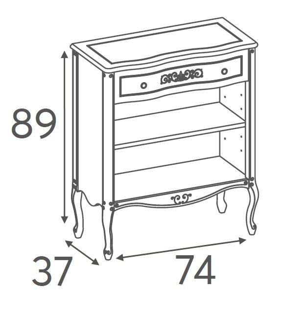 Превью Книжный шкаф 716.074